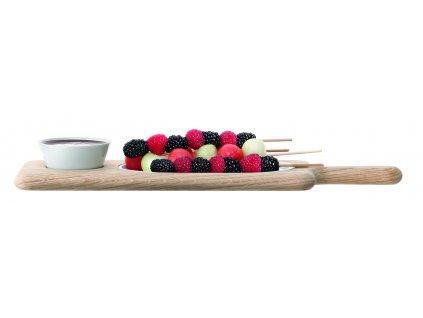 LSA PADDLE tác s talířkem a miskou,43,5 cm