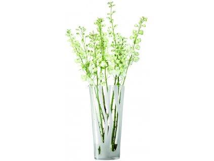 LSA Cirro váza 40cm, bílá