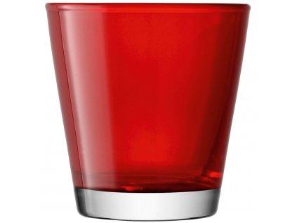 LSA Asher sklenice červená, 340ml