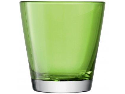 LSA Asher sklenice zelená, 340ml