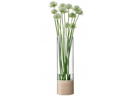 LSA Lotta váza jasan/čiré sklo, 48cm