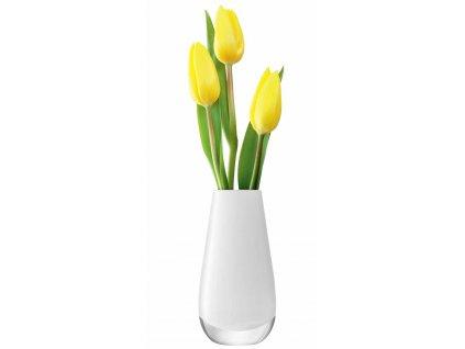 LSA Flower váza malá, 14cm, bílá