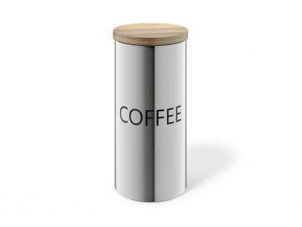 Dóza na kávu s víčkem z bambusu ZACK
