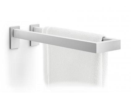 Dvojitý koupelnový držák na ručníky nerez broušený ZACK