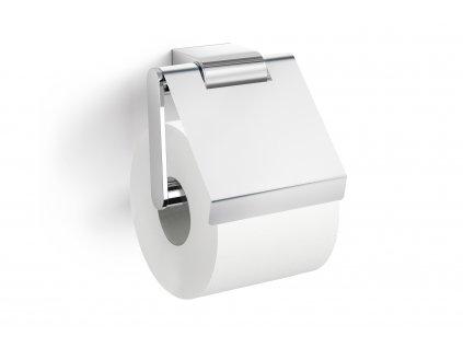 Držák toaletního papíru s krytem lesklý nerezový ZACK