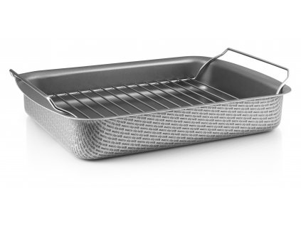 202030 Roasting pan with rack 35x25 rack HIGH