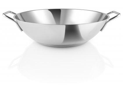 213050 stainless steel wok oppefra HIGH