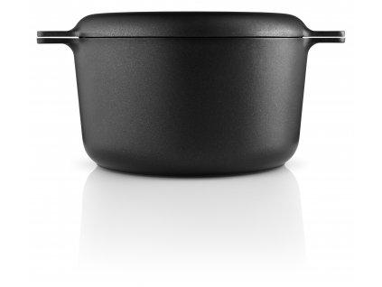 Hrnec s poklicí malý 3,0l/ 20 cm černý Nordic, Eva Solo