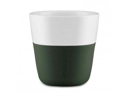 Termohrnky na kávu Espresso 2ks tmavě zelená 80ml, Eva Solo