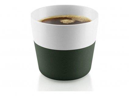 Termohrnky na kávu Lungo 2ks tmavě zelená 230ml, Eva Solo