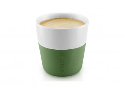 56379 1 hrnky na espresso botanicka zelena set 2ks 501061 eva solo