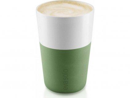 81020 hrnky na cafe latte botanicka zelena 360ml set 2ks 501063 eva solo