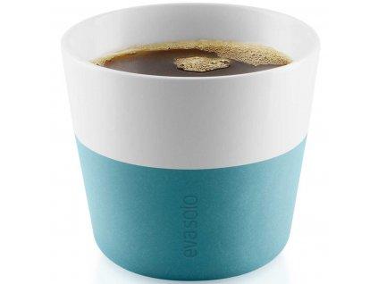 Termohrnky na kávu Lungo 2ks tyrkysová modrá 230ml, Eva Solo
