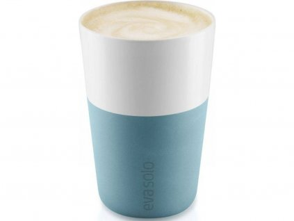 81026 hrnky na cafe latte arkticky modra 360ml set 2ks 501066 eva solo