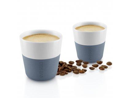 Termohrnky na kávu Espresso 2ks šedomodrá 80ml, Eva Solo