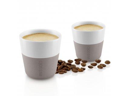 Termohrnky na kávu Espresso 2ks teplá šedá 80ml, Eva Solo