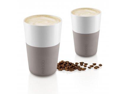 Termohrnky na Café Latte 2ks teplá šedá 360ml, Eva Solo