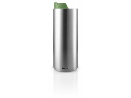 Nerezová termoska na kávu i čaj se zeleným víkem 0,35l Eva Solo