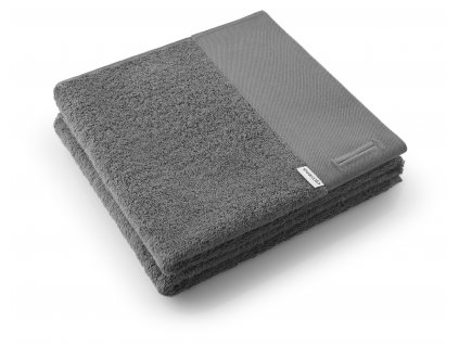 Ručník tmavě šedý 50 x 100 cm