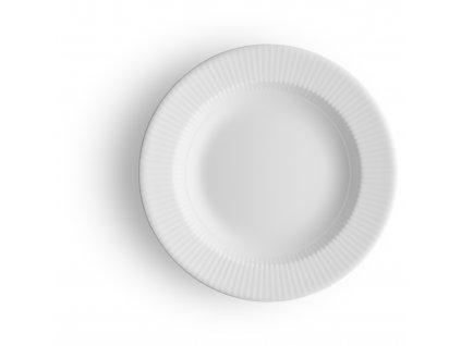 Porcelánový hluboký talíř 22 cm bílý Legio, Eva Trio