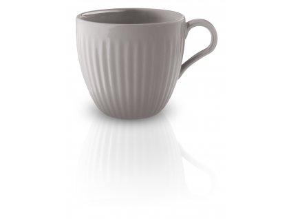 Porcelánový šálek 30cl šedý Legio, Eva Trio