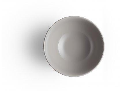 Porcelánová miska 0,4l šedá Legio, Eva Trio