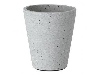 Květináč Coluna světle šedý Ø 11 cm BLOMUS