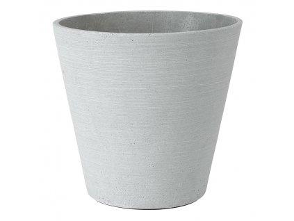 Květináč Coluna světle šedý Ø 26 cm BLOMUS