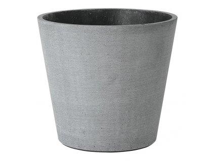Květináč Coluna tmavě šedý Ø 18 cm BLOMUS