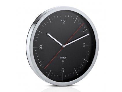 Nástěnné hodiny CRONO černé Ø 30,5 cm BLOMUS