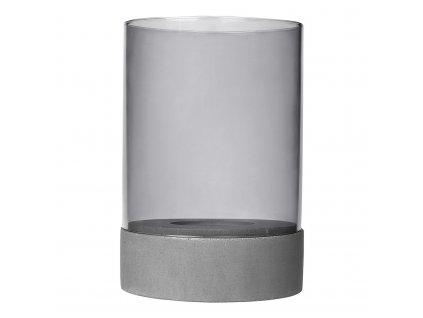 Svícen s betonovým podstavcem SPIRITO BLOMUS