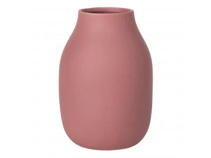 Váza COLORA cihlová Ø 14 cm BLOMUS