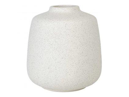 Váza RUDEA bílá Ø 14,5 cm BLOMUS