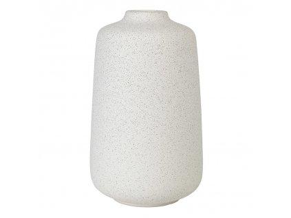 Váza RUDEA bílá Ø 16,5 cm BLOMUS
