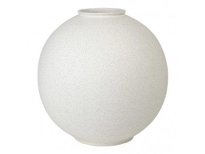 Váza RUDEA bílá Ø 36,5 cm BLOMUS