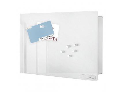 Skříňka na klíče s magnetickými dvířky VELIO bílá 20 x 30 cm BLOMUS