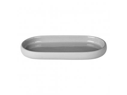 Odkládací miska na mýdlo SONO světle šedá BLOMUS