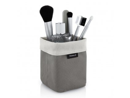 Oboustranný košík na kosmetické potřeby ARA malý pískový/šedohnědý BLOMUS