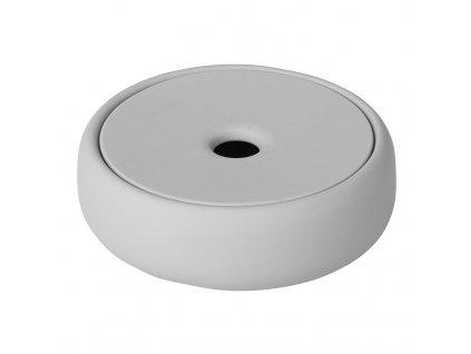 Úložný box na kosmetické potřeby SONO světle šedý BLOMUS