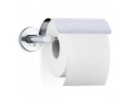 Držák toaletního papíru s krytem AREO matný nerez BLOMUS