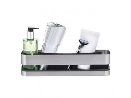 Nástěnná koupelnová police NEXIO matný nerez 34 cm BLOMUS