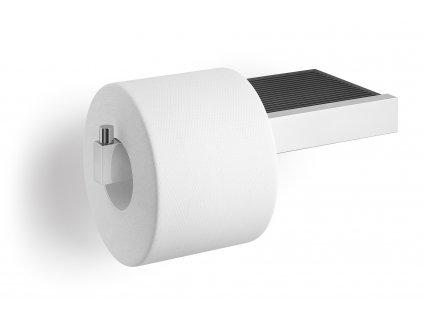 Držák toaletního papíru s odkladačem nerezový lesklý ZACK