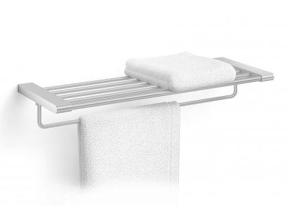 Police na ručníky nerezová broušená ZACK