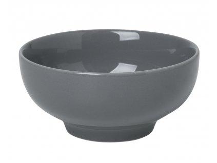 miska porcelánová malá tmavě šedá RO BLOMUS