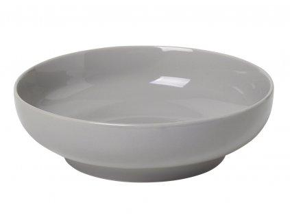 miska porcelánová polochá šedá RO BLOMUS