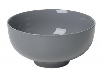 miska porcelánová velká tmavě šedá RO
