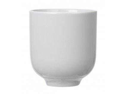 porcelánový hrníček světle šedý RO