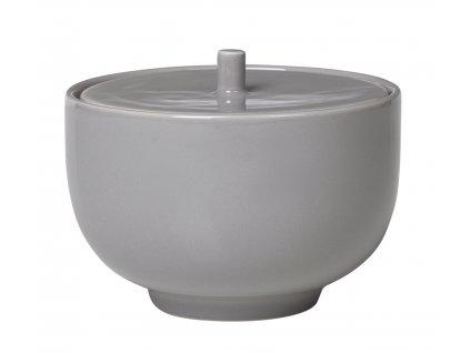 cukřenka porcelánová šedá RO BLOMUS