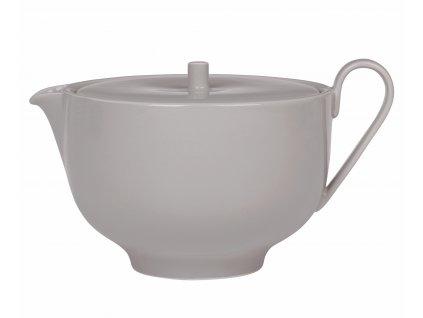 Čajová konvice porcelánová šedá RO
