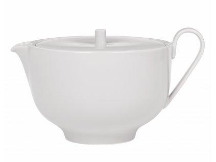 Čajová konvice porcelánová světle šedá RO